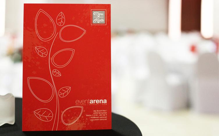 Event Arena Speisekarte