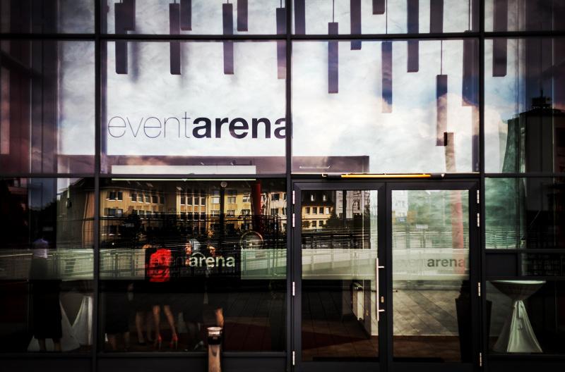 Eingangsbereich Event Arena